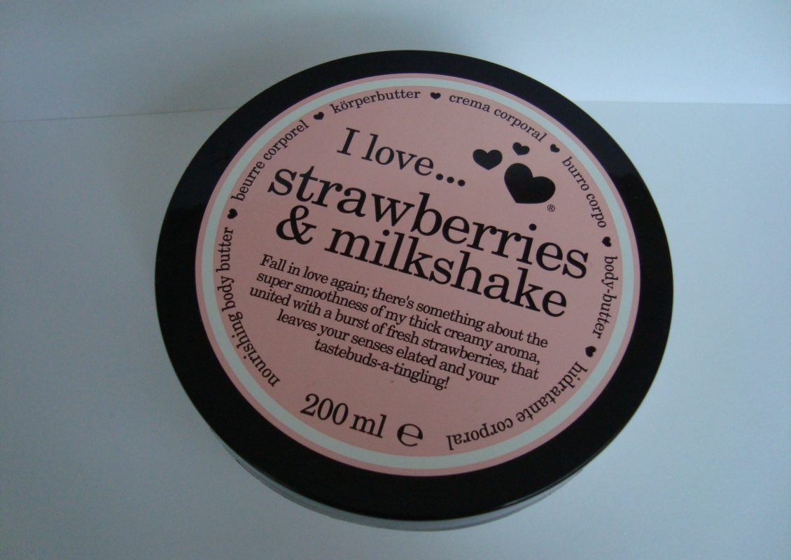 Масло за тяло I love... strawberriest & milkshake