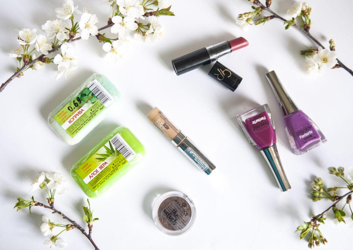 Любими козметични продукти за март 2017
