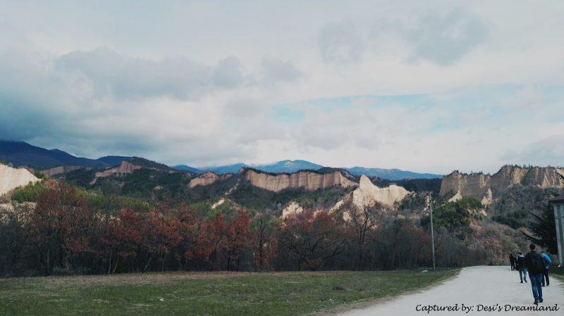 Панорама от Роженски манастир