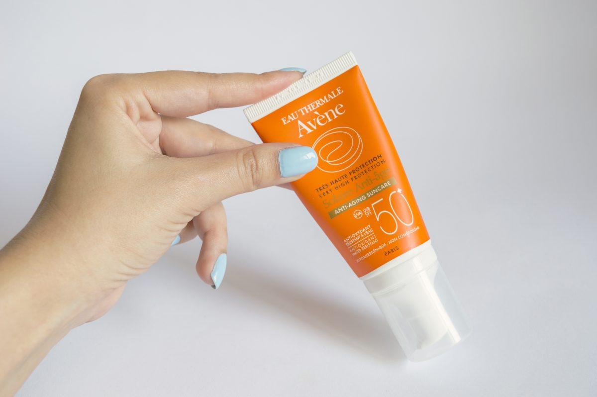 Avene анти-ейдж слънцезащитен крем