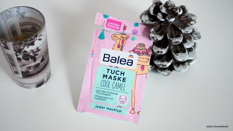 Маска-кърпа за лице Balea Cool Camel