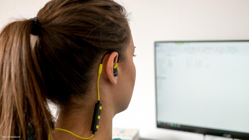 Безжични спортни слушалки Canyon