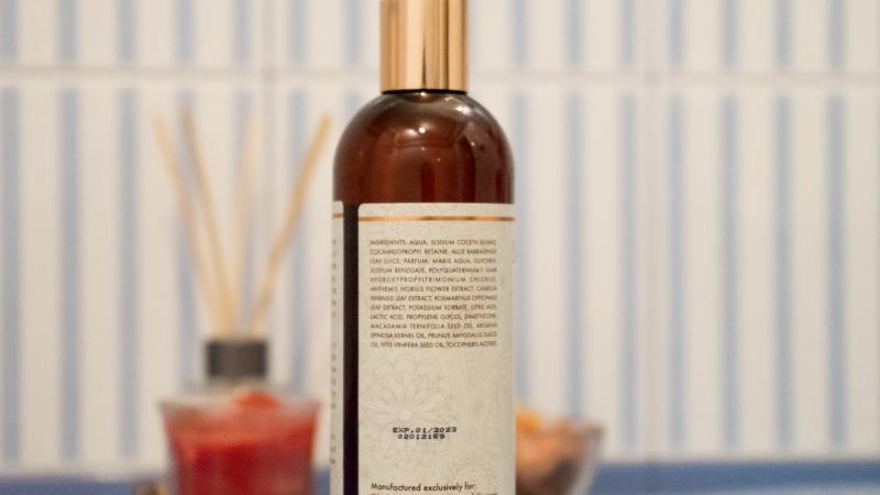 Състав и опаковка на Seamantika Mineral Shampoo