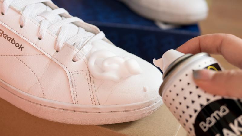Bama Sneaker Care почистваща пяна суоч