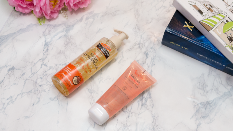 Avene Cleanser and Palmers Cleansing Oil