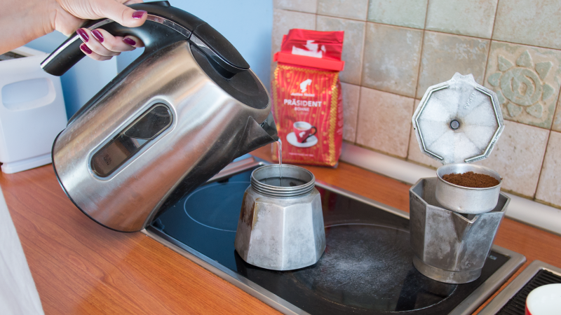 Приготвяне на кафе