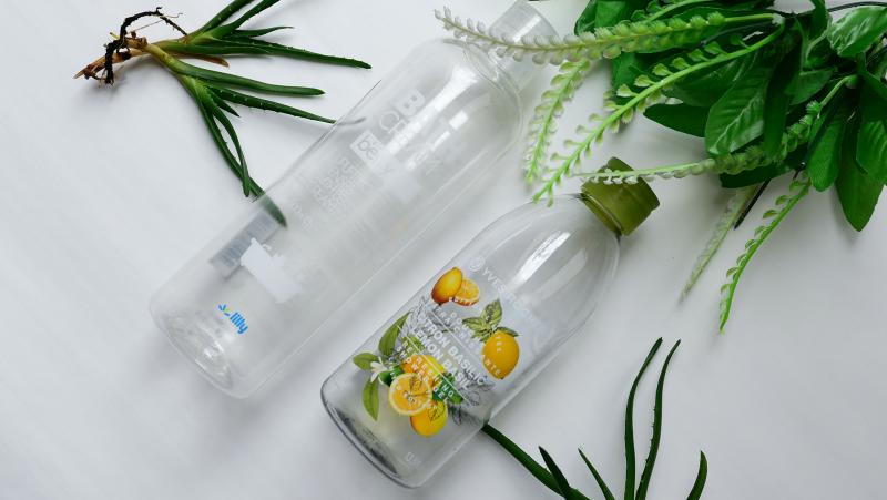 Крем пяна за вана Lilly с горски плодове и Душ гел Yves Rocher с босилек и лимон