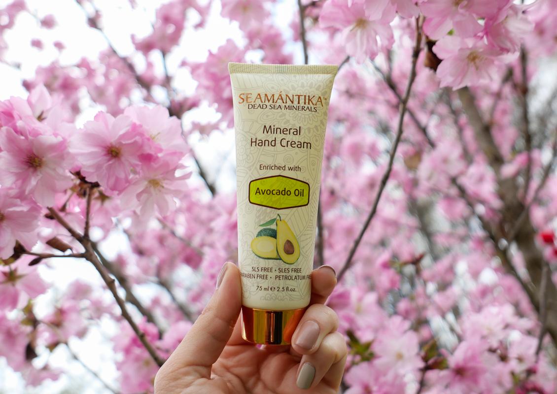 Минерален крем за ръце с масло от авокадо Seamantika