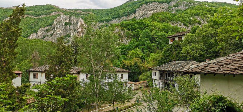 Манастирската част на комплекса