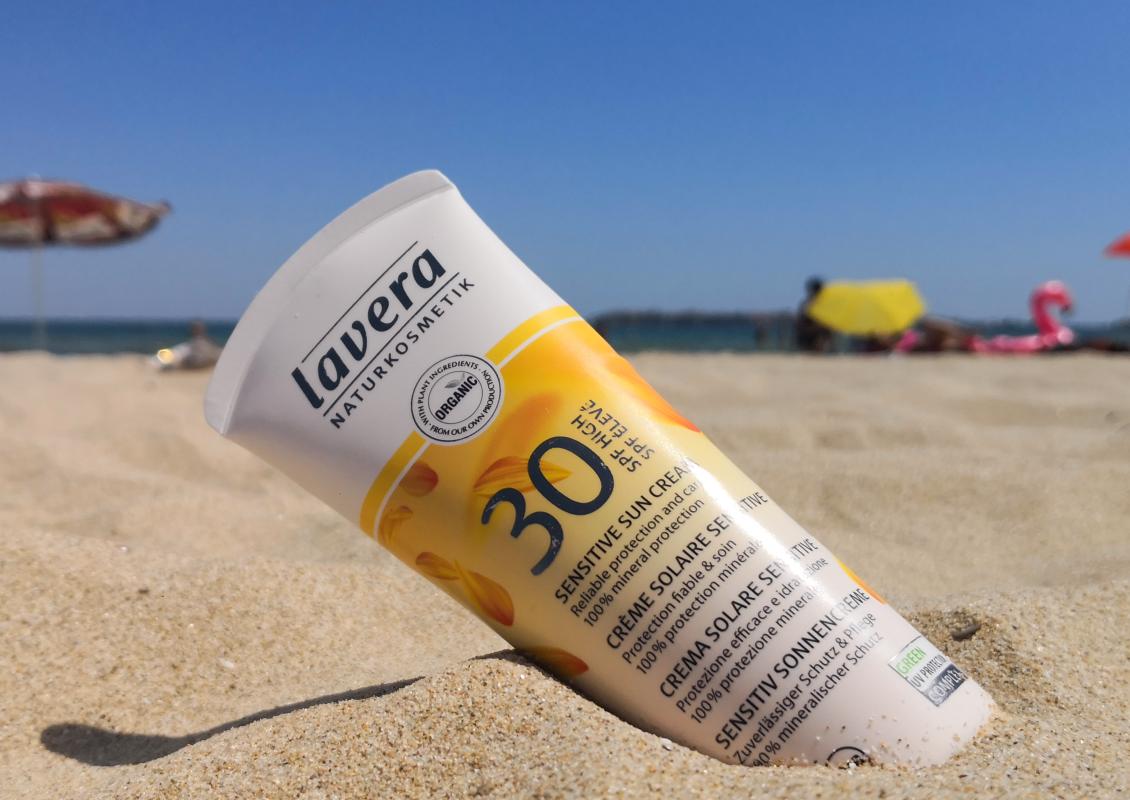 Lavera Слънцезащитен крем за чувствителна кожа SPF 30