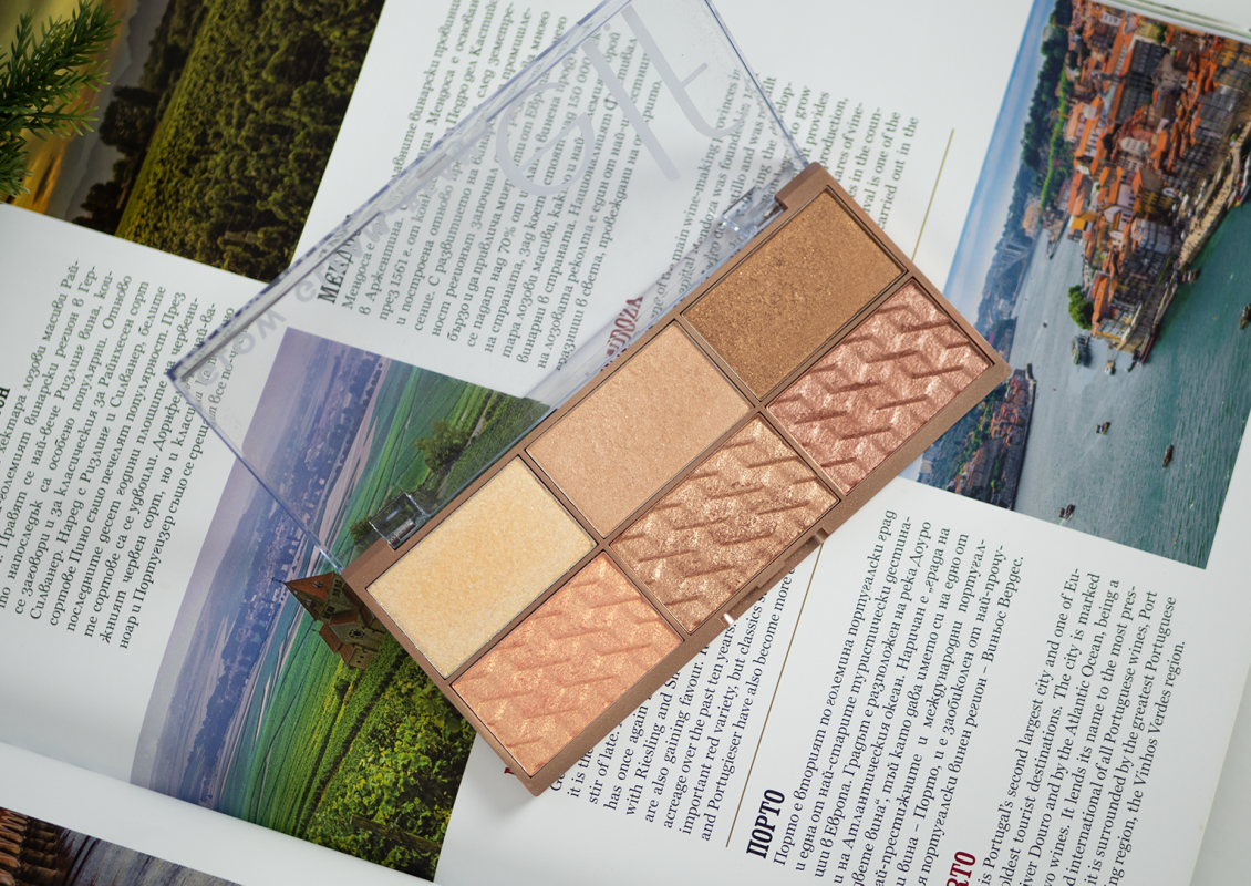 elf cosmetics Glow Gleam Beam Highlighter Palette