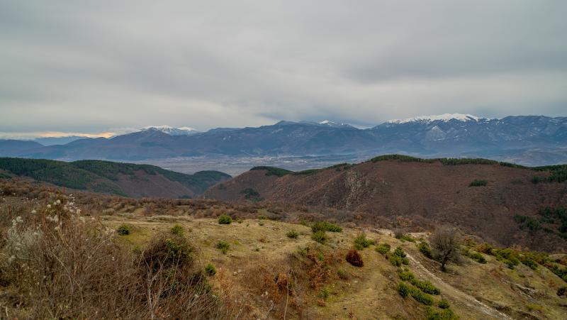 Гледка към Пирин планина