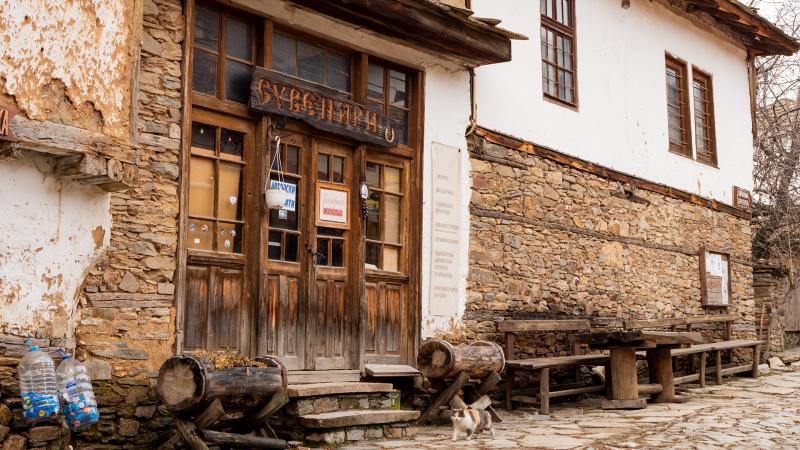 Магазинче за сувенири в село Ковачевица